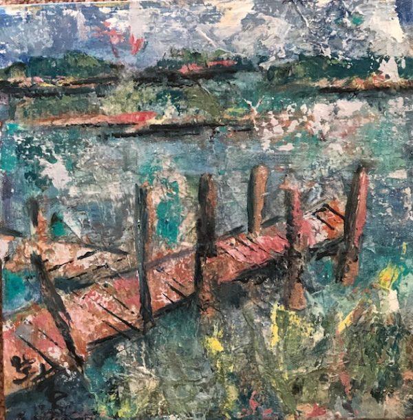 Dock at Cedar Key 12 xx 12