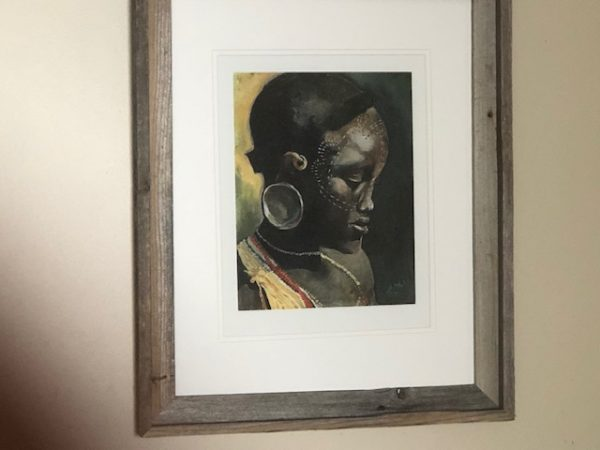 Pride - Print matted and framed 19 x 23